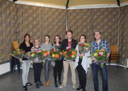 Hellendoornse Harmonie jubilarissen 2016