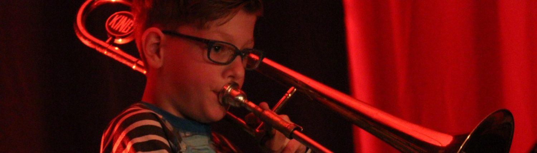 Hellendoornse Harmonie leerling trombone