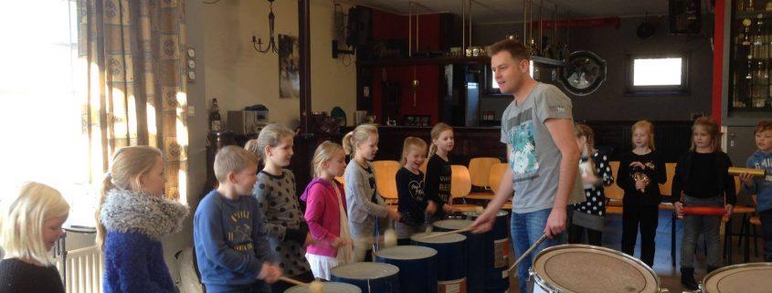 Hellendoornse Harmonie slagwerk workshop 2016