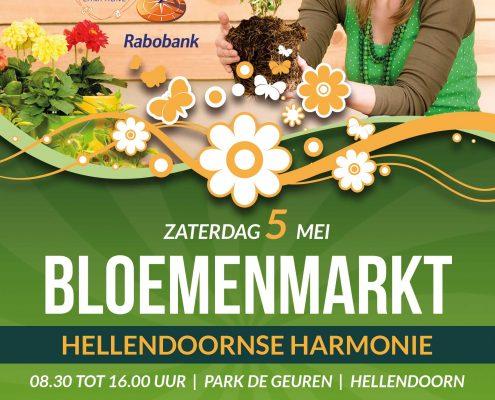hellendoornse harmonie Bloemenmarkt-flyer-2018