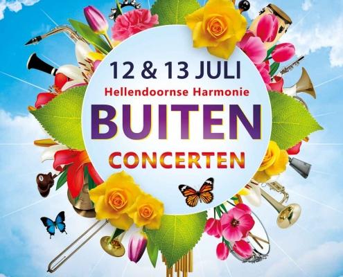 Hellendoornse Harmonie Buitenconcert